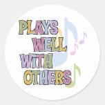 Funny Musician Gift Sticker