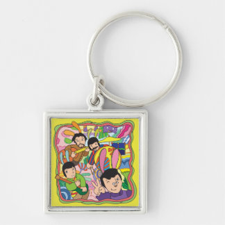 Funny musicians keychain