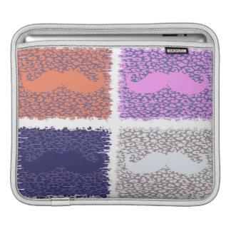 Funny Mustache 2 iPad Sleeve