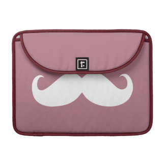 Funny Mustache 2 Sleeve For MacBook Pro