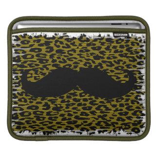 Funny Mustache 4 iPad Sleeve