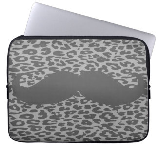Funny Mustache 4 Laptop Sleeves