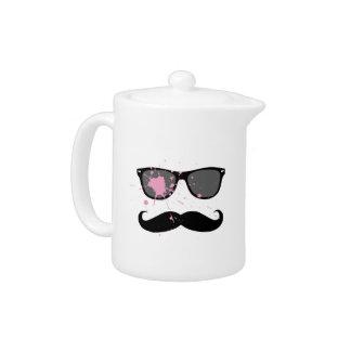 Funny Mustache and Sunglasses