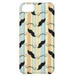 Funny Mustache Background iPhone 5C Cover