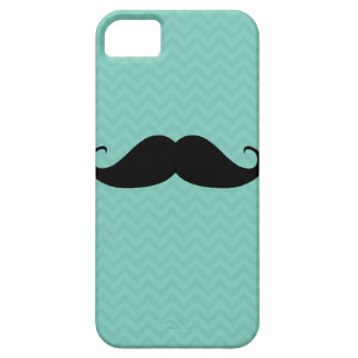 Funny mustache chevron mustaches cool pattern iPhone SE/5/5s case