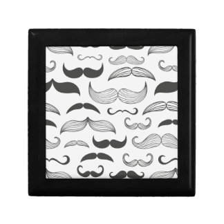 Funny Mustache Fantachetic Jewelry Box