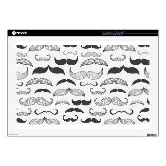 Funny Mustache Fantachetic Laptop Skin