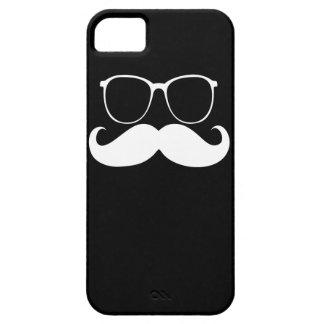 Funny  Mustache Glasses 2 iPhone SE/5/5s Case