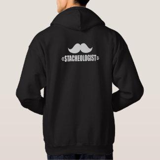 Funny Mustache Hoodie