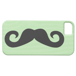 Funny Mustache iPhone 5 Case