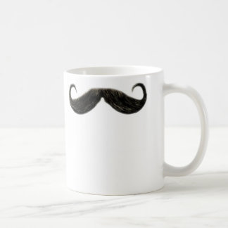 funny mustache mug