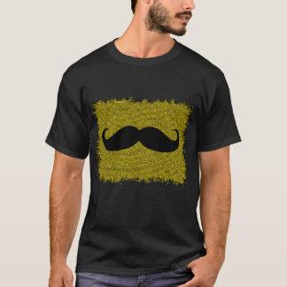 Funny Mustache on leopard skin T-Shirt
