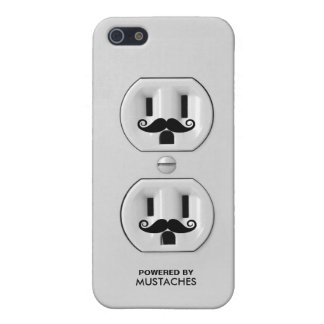Funny Mustache Outlet Case For iPhone SE/5/5s