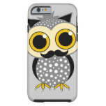 funny mustache owl iPhone 6 case