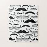 Funny Mustache Puzzle