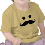 Funny Mustache Smiley Infant T-Shirt
