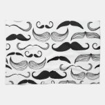 Funny Mustache Towels