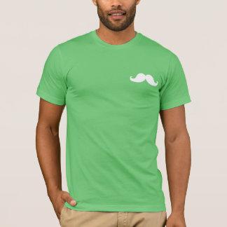 FUNNY MUSTACHE | WHITE T-Shirt