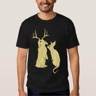 Funny Mutated Rabbits Men's T-shirt