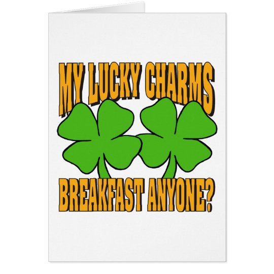 Funny My Lucky Charms Gift Card