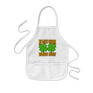 Funny My Lucky Charms Gift Kids' Apron