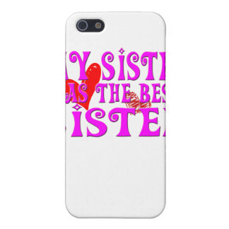 Funny My Sister Has the best sister iPhone SE/5/5s Cover