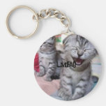 Funny 'n' Adorable Kitten Keyring - LMFAO!!! Keychains