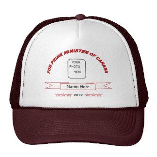 Funny Name Here Prime Minister Ball Cap Trucker Hat