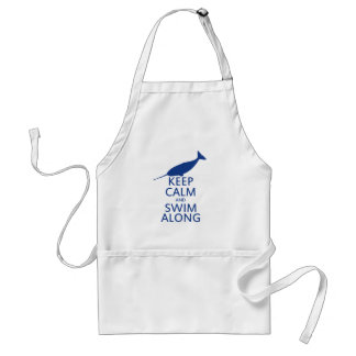 Funny Narwhal Humor Adult Apron