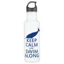 Funny Narwhal Humor Water Bottle
