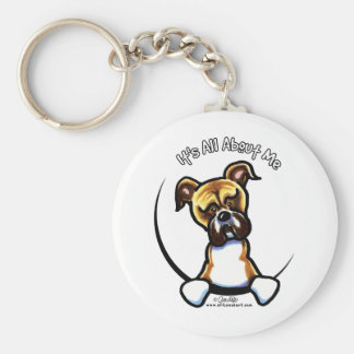 Funny Natural Ears Boxer Keychain