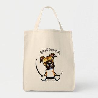 Funny Natural Ears Boxer Tote Bag
