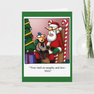 funny naughty or nice intel christmas card - Naughty Or Nice Christmas Card