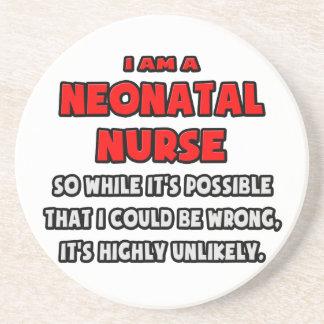 Funny Neonatal Nurse .. Highly Unlikely Drink Coaster