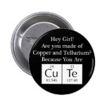 Funny Nerd Chat Up Line 2 Inch Round Button