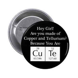 Funny Nerd Chat Up Line Button