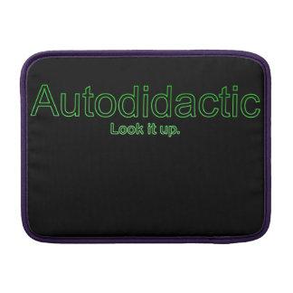 Funny Nerdy Autodidactic Joke Sleeve For MacBook Air