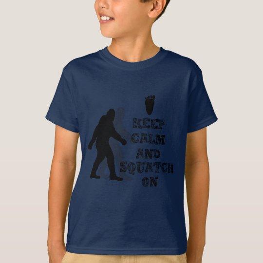 funny nerdy geek big foot sasquatch T-Shirt