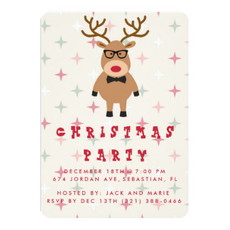 Funny Christmas Party Invitations could be nice ideas for your invitation template