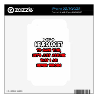 Funny Neurologist T-Shirts and Gifts Decal For iPhone 2G