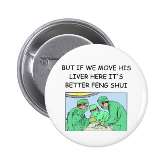 funny new age doctor joke button