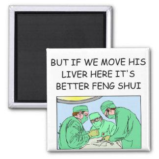 funny new age doctor joke magnet