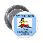 funny new age guru meditation joke pin