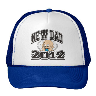 Funny New Dad 2012 Hats