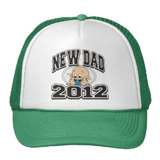 Funny New Dad 2012 Mesh Hat