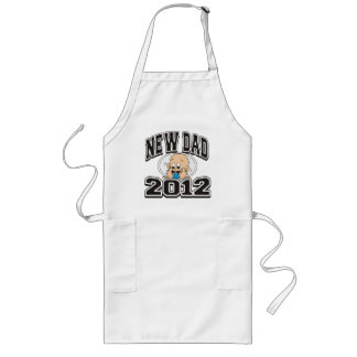 Funny New Dad 2012 Long Apron