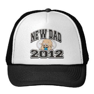 Funny New Dad 2012 Trucker Hat