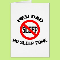 Funny New Dad Card