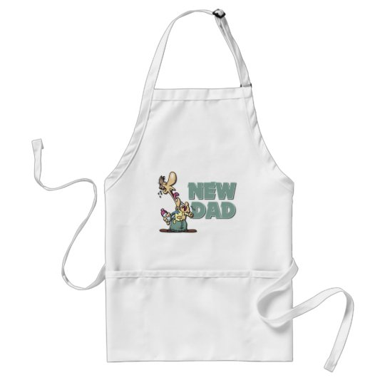 Funny New Dad Gift Adult Apron