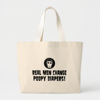 Funny New Dad Large Tote Bag